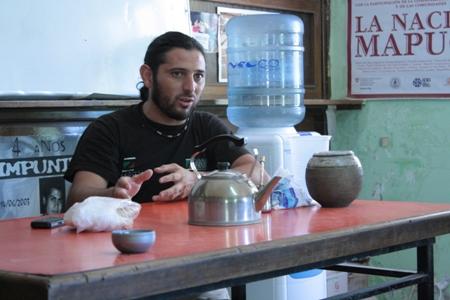 Andrés Blanco, Secretario General del Sindicato Ceramista