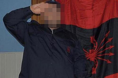 Imagen colgada por el atacante en el perfil de twitter de @NacCiberCom7 para probar su autoría.