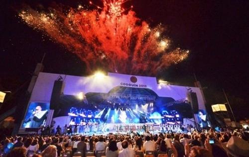 Inauguración del Festival de Cosquín (Fuente: tribunadigital.com.ar)