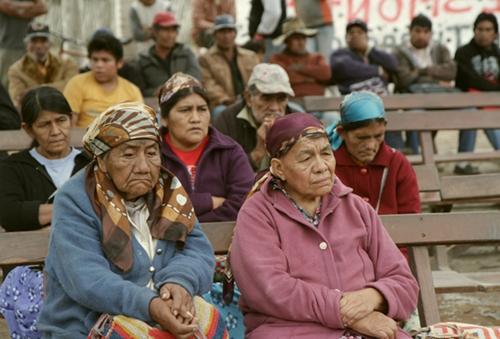Imagen del encuentro en la comunidad Wichí Misión Chaqueña (Fuente: Fundación Deuda Interna)