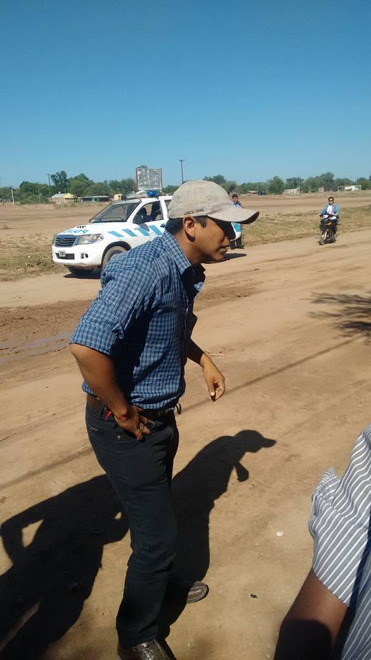 Javier Molina, policía de Ingeniero Juárez
