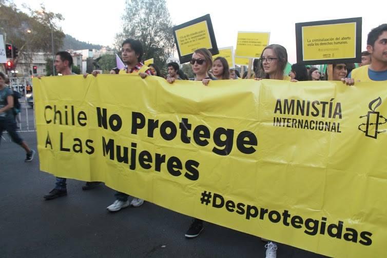 Chile, por @amnistiachile
