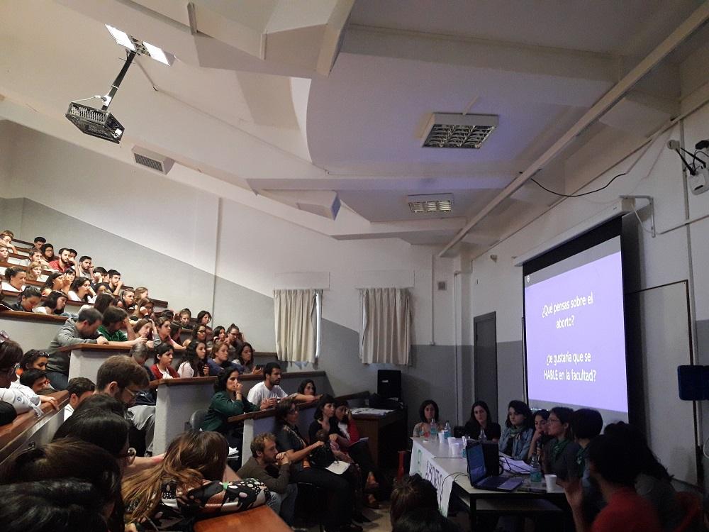 Lanzamiento de la Cátedra libre de Aborto en la UNLP – ANRed