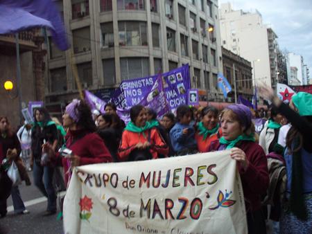 En el Encuentro de Mujeres de Córdoba 2007