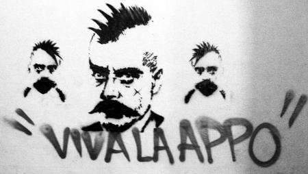 Zapata punk, pintada callejera