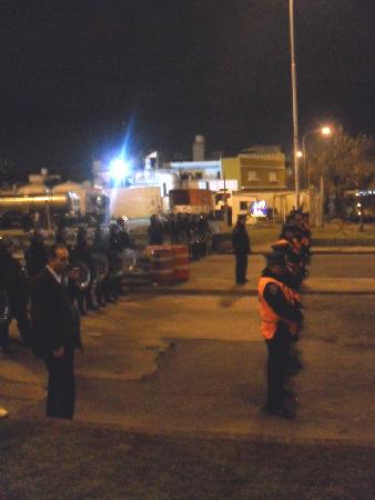 La marcha nocturna fue