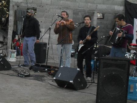Diversos grupos musicales participaron de la jornada