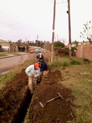 Cooperativistas del FOL en del Programa Argentina Trabaja