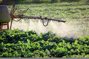 Fumigación con herbicidas