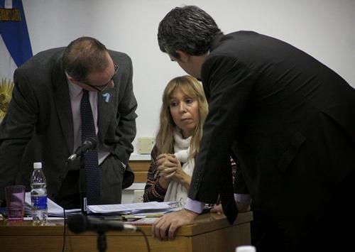 Jueza María Gagliano - Foto Darío Mardones