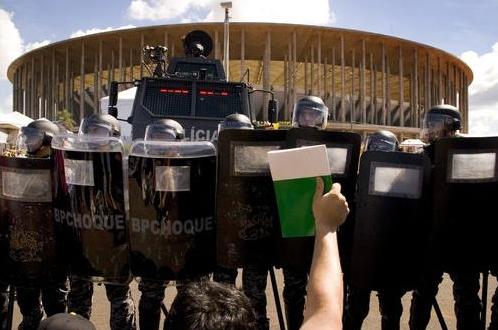 Estádio Nacional Mané Garrincha. / Felipe Canova