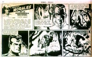 El Sargento Morales, historieta de D
