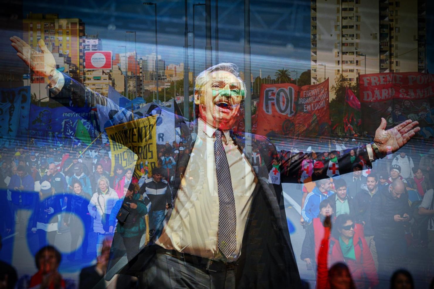 Resultado de imagen de Alberto Fernández Crisis y moderación